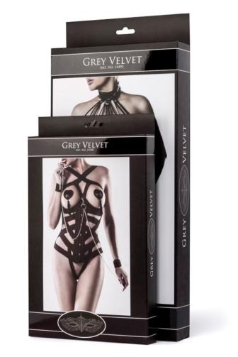 3-teiliges Kettenharness-Set von Grey Velvet