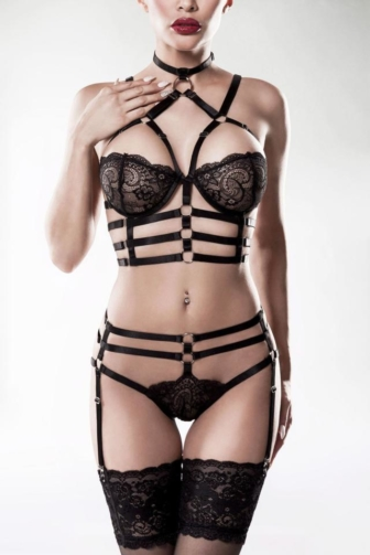 2-teiliges Harness Set von Grey Velvet