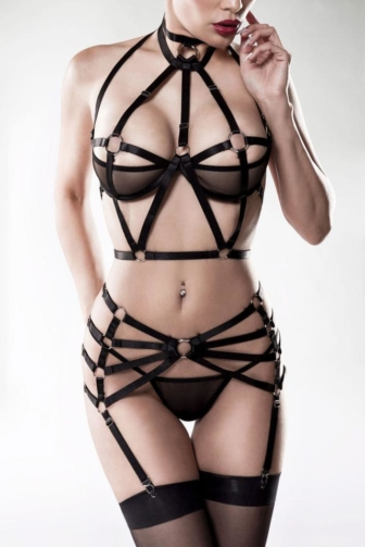 3-teiliges Harness Set von Grey Velvet